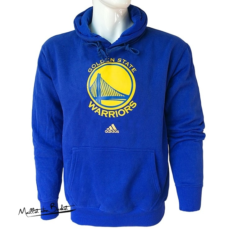 Hoodies NBA Golden State Warriors Bleu City