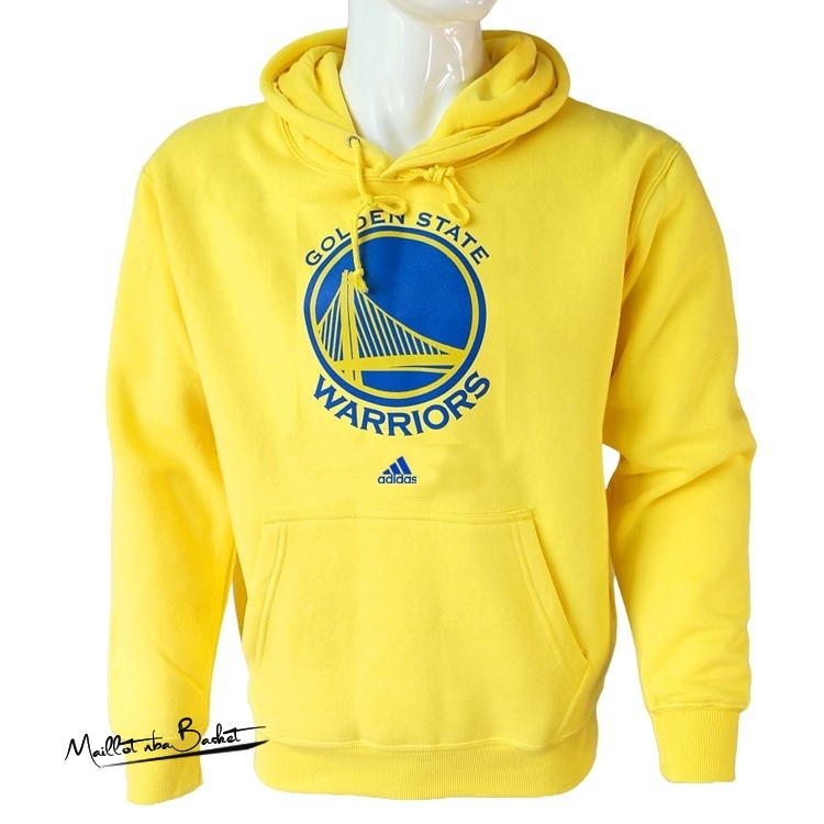 Hoodies NBA Golden State Warriors Jaune City
