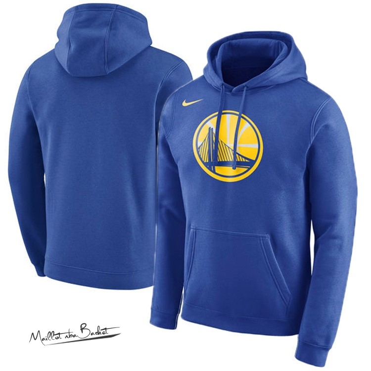 Hoodies NBA Golden State Warriors Nike Bleu