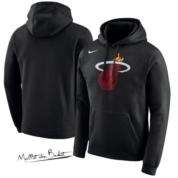 Hoodies NBA Miami Heat Nike Noir