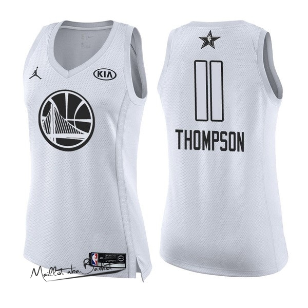 Maillot NBA Femme 2018 All Star NO.11 Klay Thompson Blanc