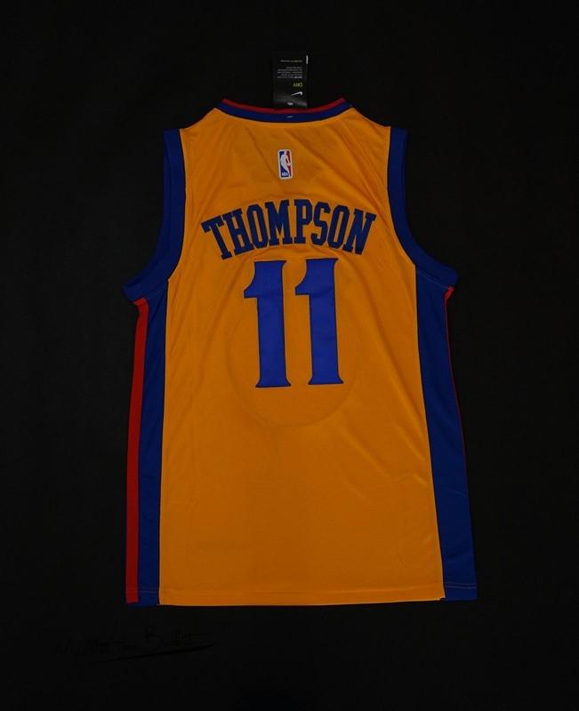 pas cher pour réduction 118e3 6cb75 Maillot NBA Nike Golden State Warriors NO.11 Klay Thompson ...