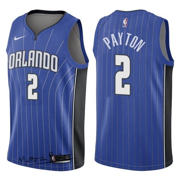 Maillot NBA Nike Orlando Magic NO.2 Elfrid Payton Bleu Icon