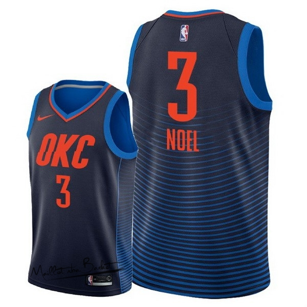 Maillot NBA Nike Oklahoma City Thunder NO.3 Nerlens Noel Marine Statement 2018