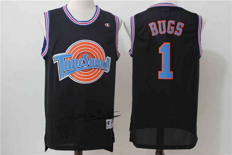 Maillot NBA Film Basket-Ball Tune Escuadra NO.1 Bugs Noir