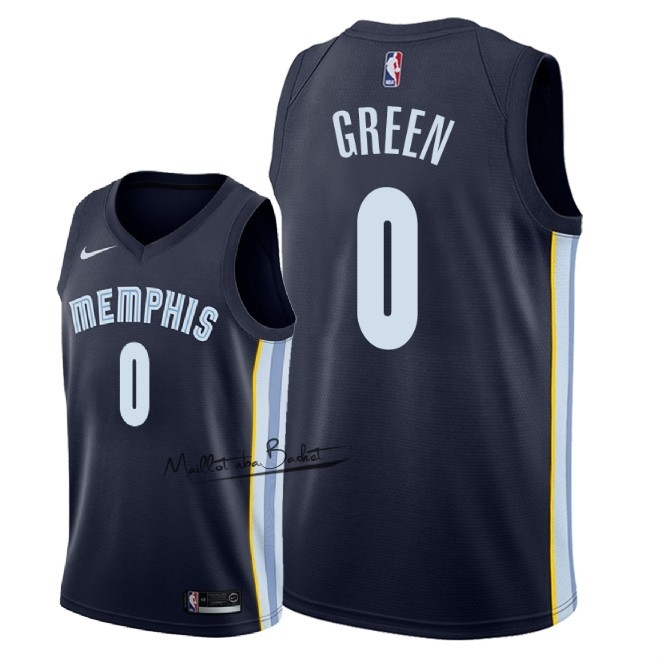 Maillot NBA Nike Memphis Grizzlies NO.0 JaMychal Green Marine Icon 2018