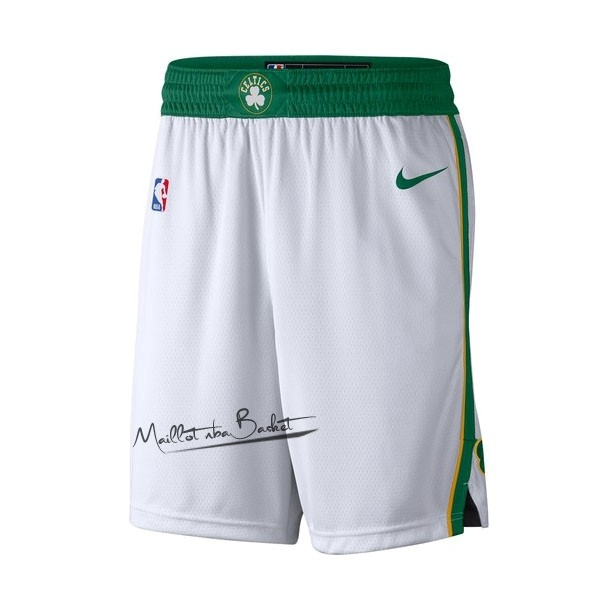 Short Basket Boston Celtics Nike Blanc Ville 2018-19