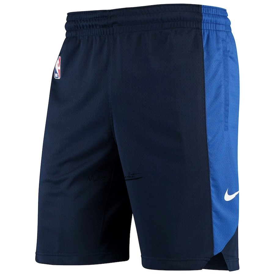 Short Basket Dallas Mavericks Nike Marine 2018