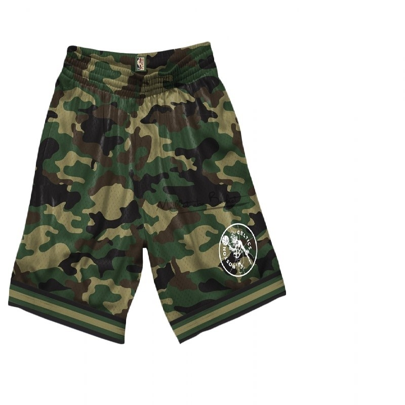 Short Basket Boston Celtics camo