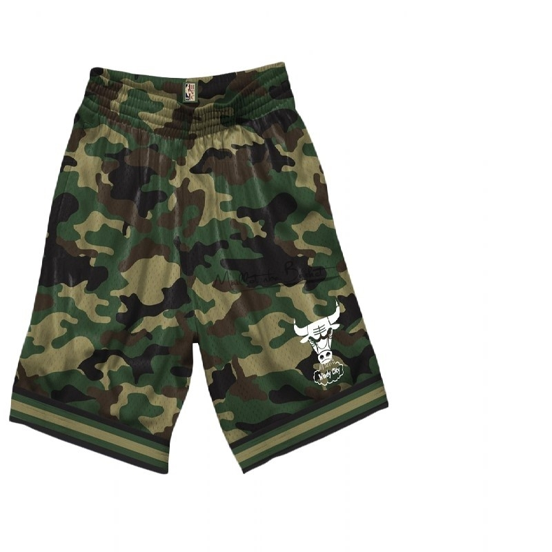 Short Basket Chicago Bulls camo