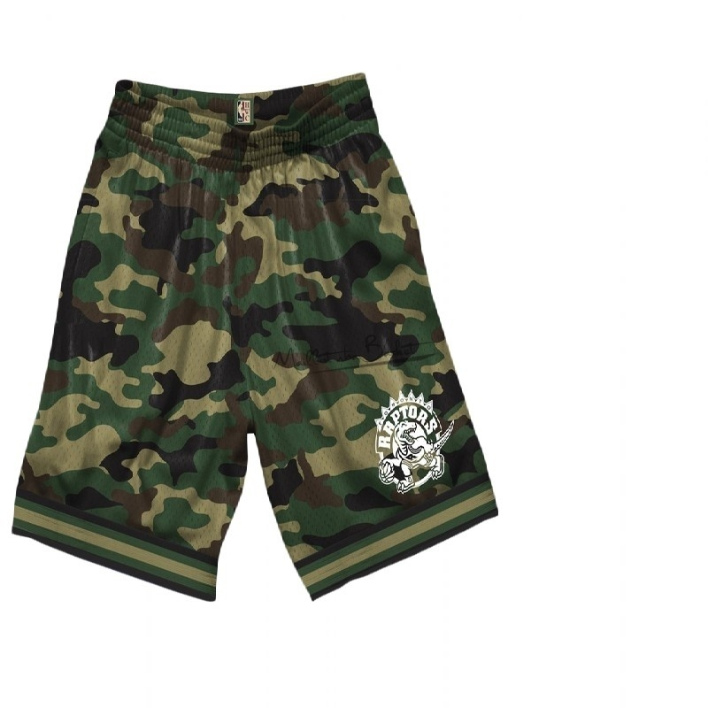 Short Basket Toronto Raptors camo