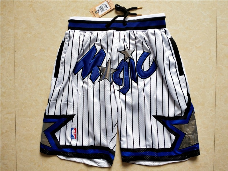 Short Basket Orlando Magic Blanc