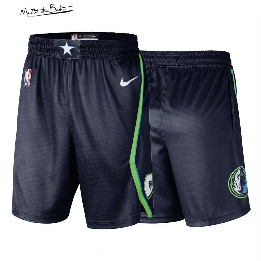 Short Basket Dallas Mavericks Nike Noir Ville 2019-20