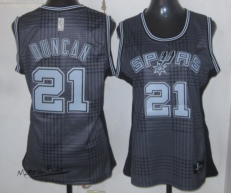 Maillot NBA Femme 2013 Static Fashion NO.21 Duncan