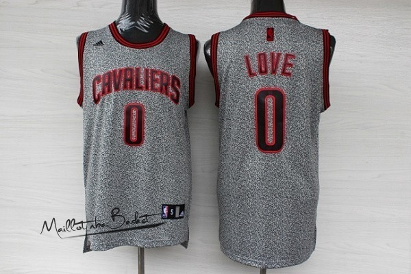 Maillot NBA 2013 Static Fashion Cleveland Cavaliers NO.0 Love