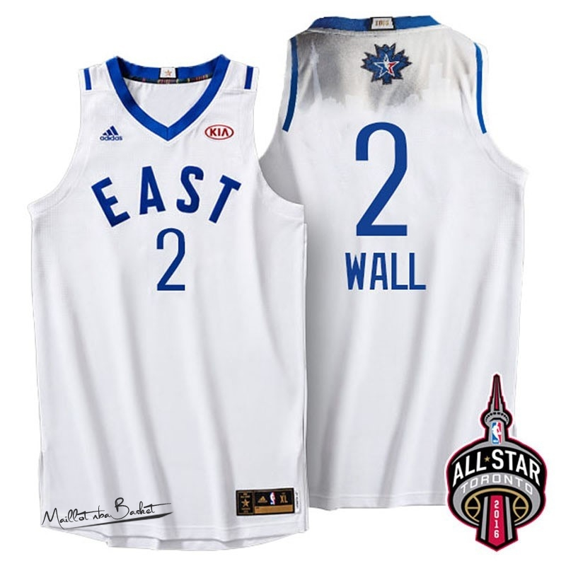 Maillot NBA 2016 All Star NO.2 John Wall Blanc