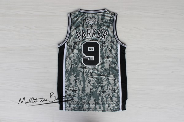 Maillot NBA San Antonio Spurs NO.9 Tony Parker Vert