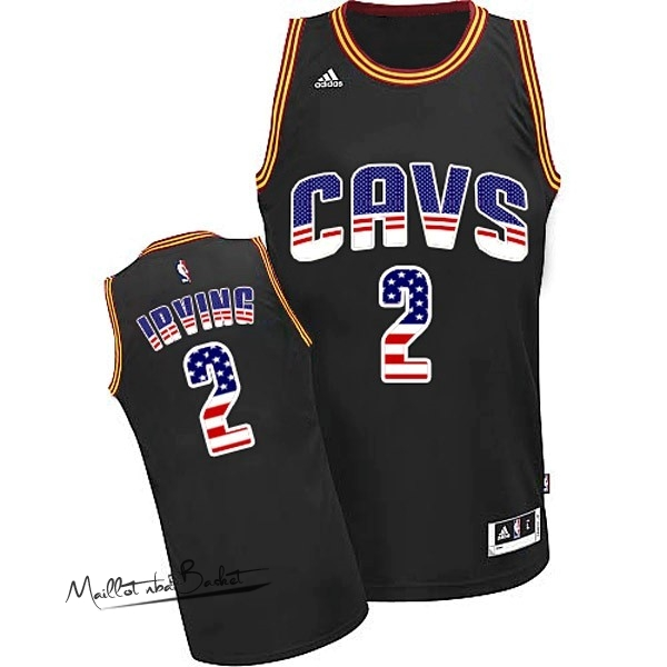 Maillot NBA USA Flag Special Edition NO.2 Irving Noir