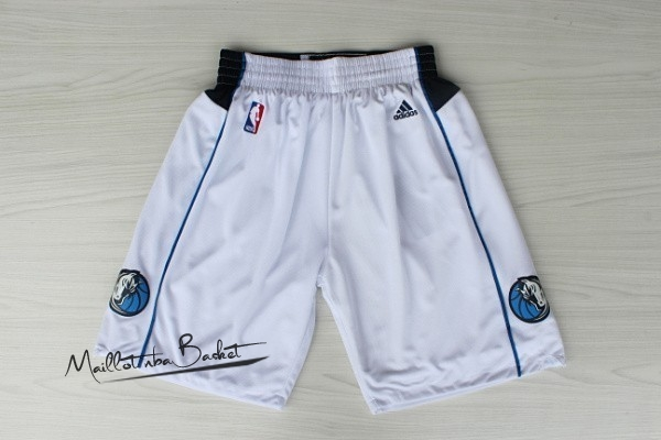 Short Basket Dallas Mavericks Blanc