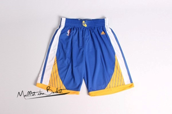 Short Basket Golden State Warriors Bleu