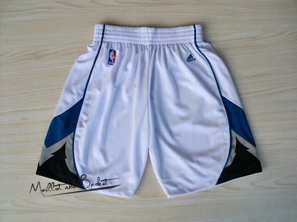 Short Basket Minnesota Timberwolves Blanc
