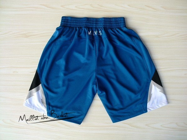 Short Basket Minnesota Timberwolves Bleu