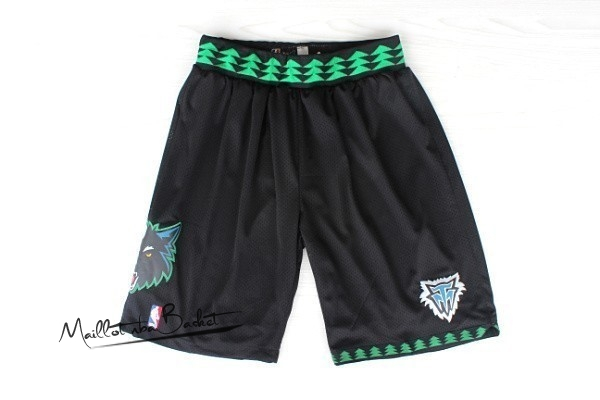 Short Basket Minnesota Timberwolves Retro Noir