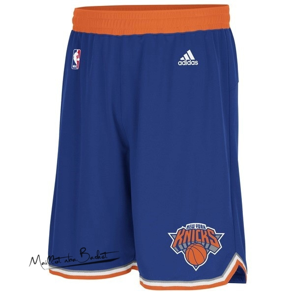 Short Basket New York Knicks Bleu